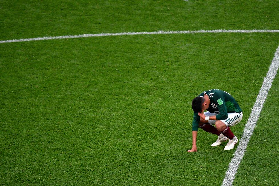 Mexico cayó 3-0 con Suecia pero clasifico a los octavos de final