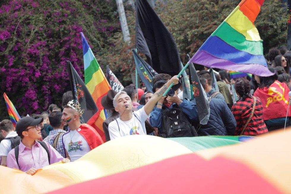 Marcha de comunidad LGBTIQ