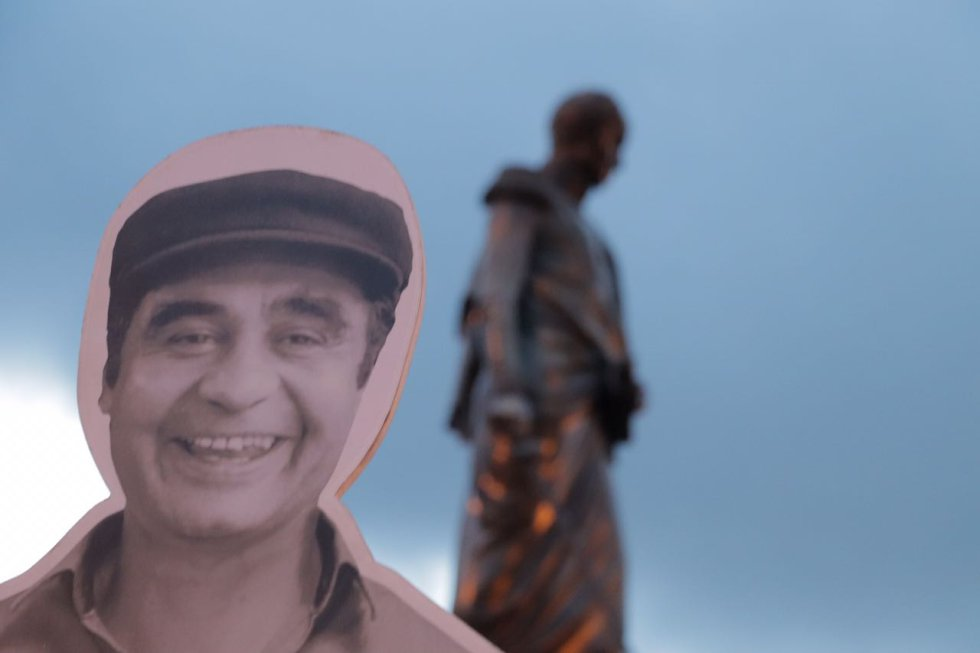 Manifestantes recordaron a varios de los líderes sociales asesinados en le país.