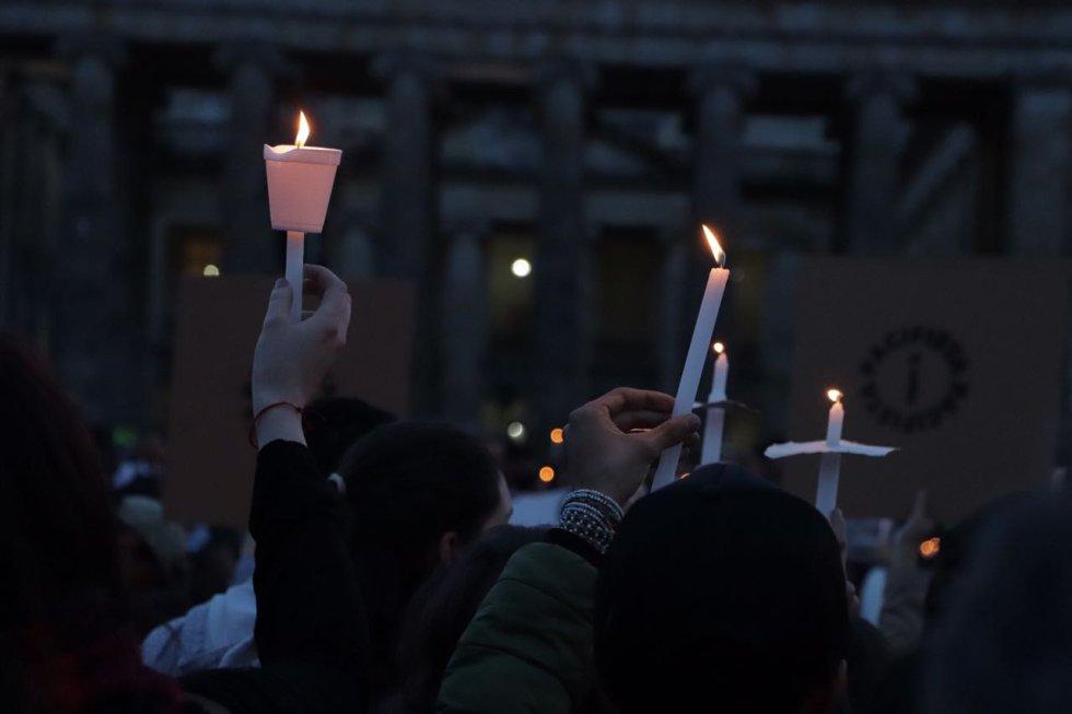 Asesinatos Lideres sociales: [Fotos]: Colombia dice #VelaPorLaVida