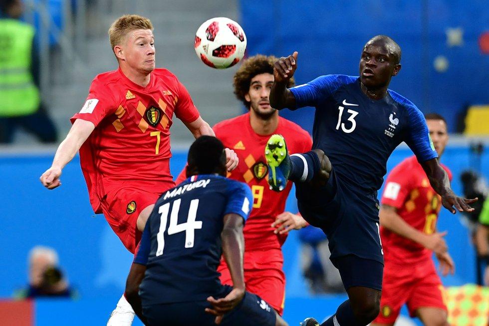 Francia 1-0 Bélgica Mundial Rusia imágenes: Las mejores imágenes de la clasificación de Francia a la final del Mundial