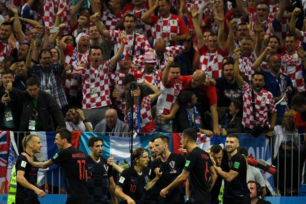 Inglaterra Croacia imágenes Mundial Rusia 2018: En imágenes, el juego entre Croacia e Inglaterra