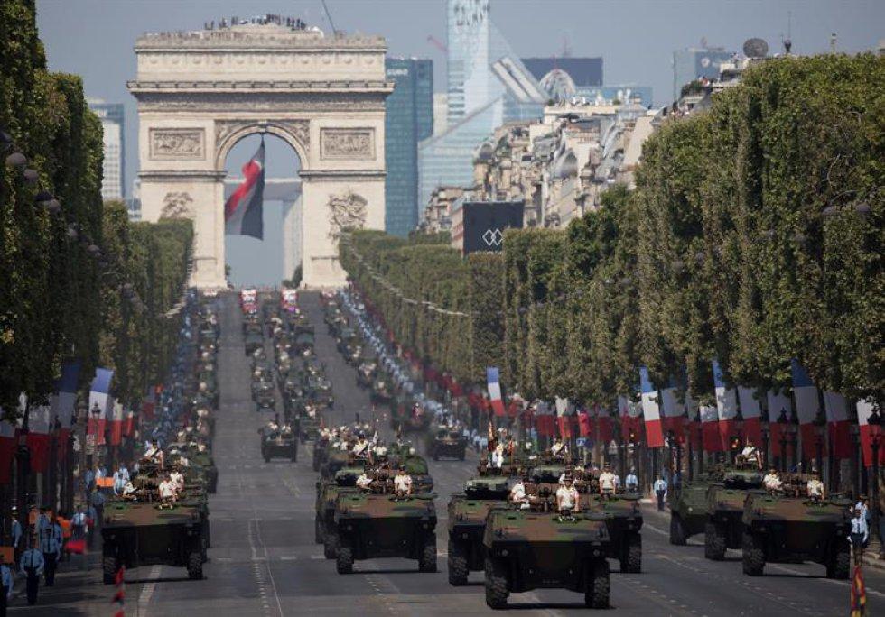 Desfile Carros Tanque