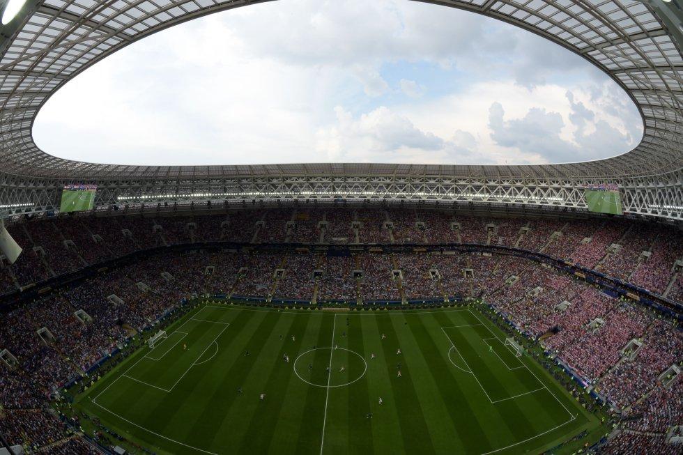 francia croacia: En imágenes: la final mundialista entre Francia y Croacia