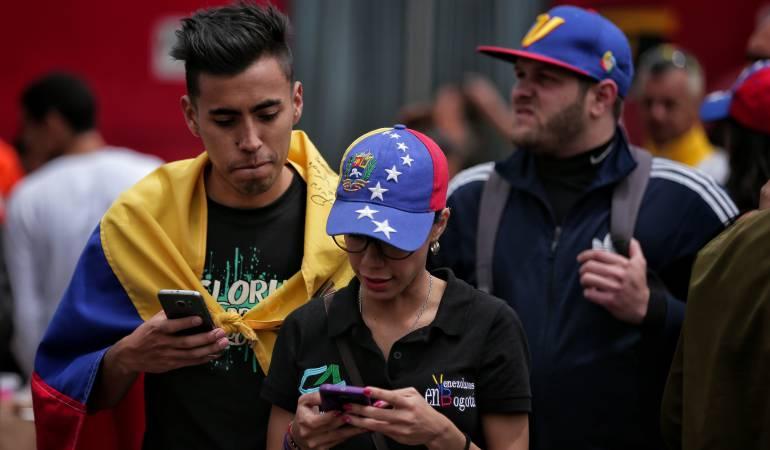 Resultado de imagen para venezolano trabajando en colombia