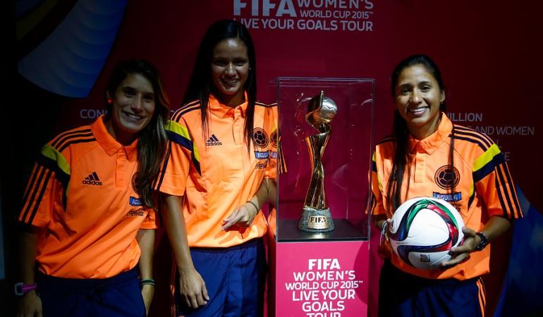 9b7c5531bc3ef futbol femenino colombia  Futbolistas colombianas conquistan el ...