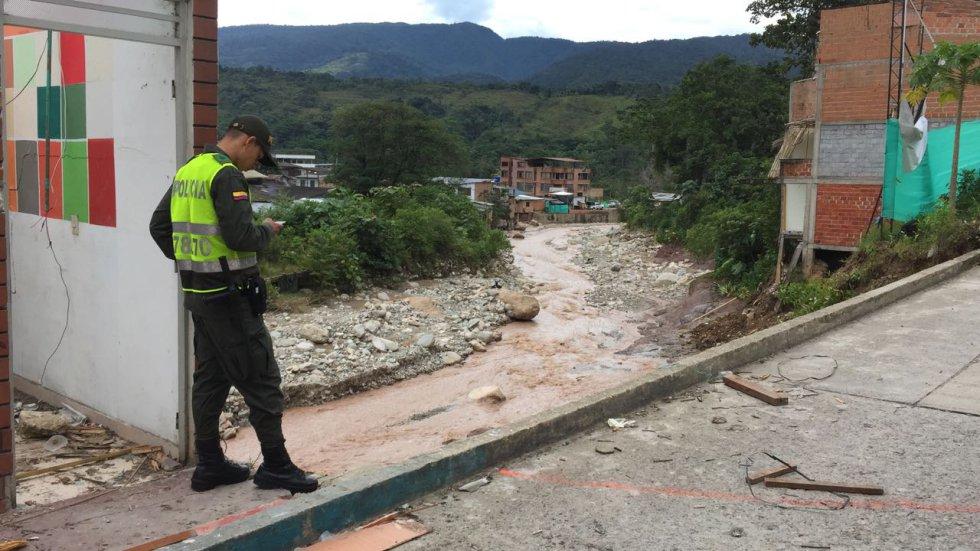 El nivel de los ríos Sangoyaco y Mulato, mantienen en alerta roja a Mocoa.