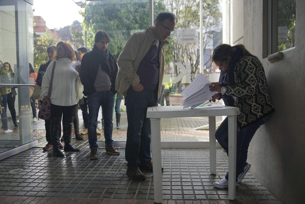 """El registrador nacional, Juan Carlos Galindo, aseguró que """"cada detalle ha sido supervisado para garantizar a los colombianos un proceso ágil y eficiente y sobre todo transparente""""."""