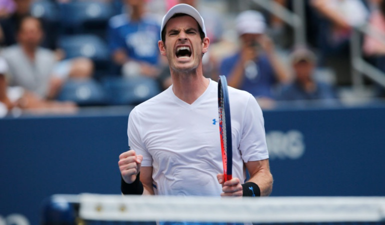 Andy Murray US Open: Andy Murray inició con victoria su camino en el US Open