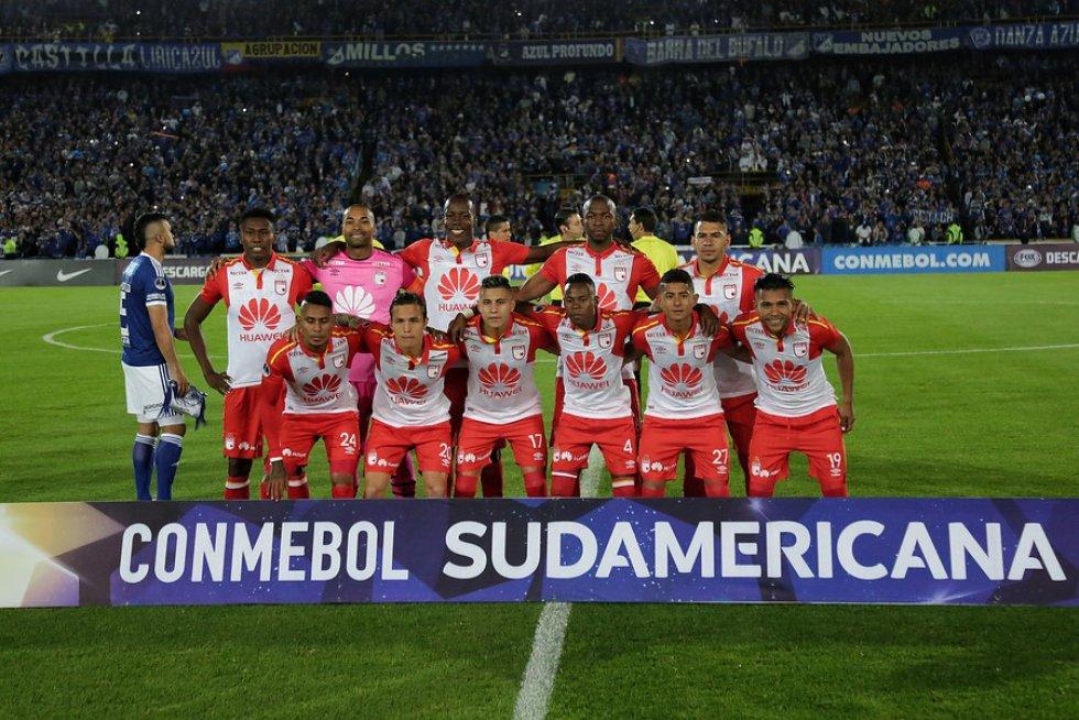 Imágenes Millonarios Vs Santa Fe: Las mejores imágenes de la clasificación de Independiente Santa Fe