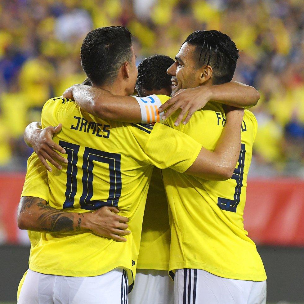 fotos colombia estados unidos seleccion en vivo: Las mejores imágenes del triunfo de la Selección sobre Estados Unidos