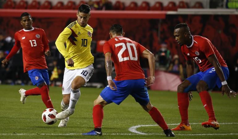 colombia 3 costa rica 1 en vivo: Prueba superada: Con doblete del 'Cucho', Colombia vence 3-1 a Costa Rica