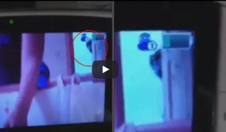 9f4e93b1c Terrorífico video fue captado por un monitor en la habitación de un bebé