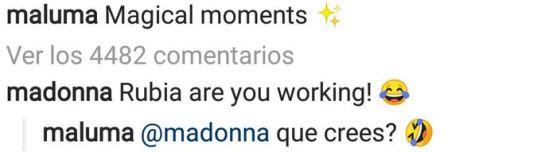 Reacción de Madonna al ver el nuevo look de Maluma: Hasta Madonna se burla del nuevo look de Maluma