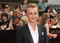 Así ha cambiado Tom Felton, actor de Draco Malfoy en Harry Potter