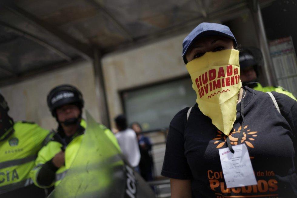 Así avanzan las marchas de estudiantes y centrales obreras en el país