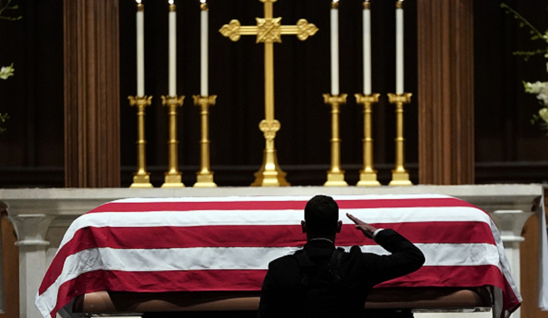 George H.W. Bush funeral de Estado: Washington se despide de George H.W. Bush con un emotivo funeral de Estado