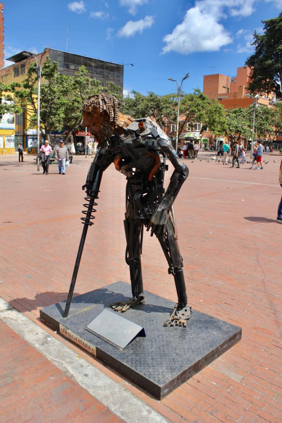 Las obras inspiradas en víctimas de accidentes viales en Bogotá