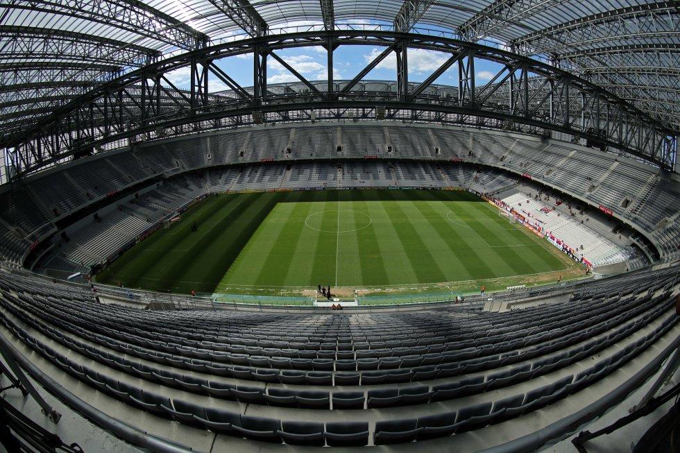 Arena da baixada, estadio Atlético Paranaense: En imágenes: el Arena da Baixada, estadio para la final de la Sudamericana