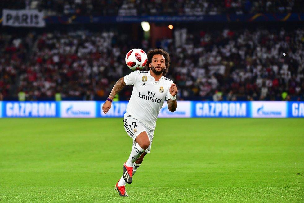 Marcelo, lateral izquierdo del Real Madrid.
