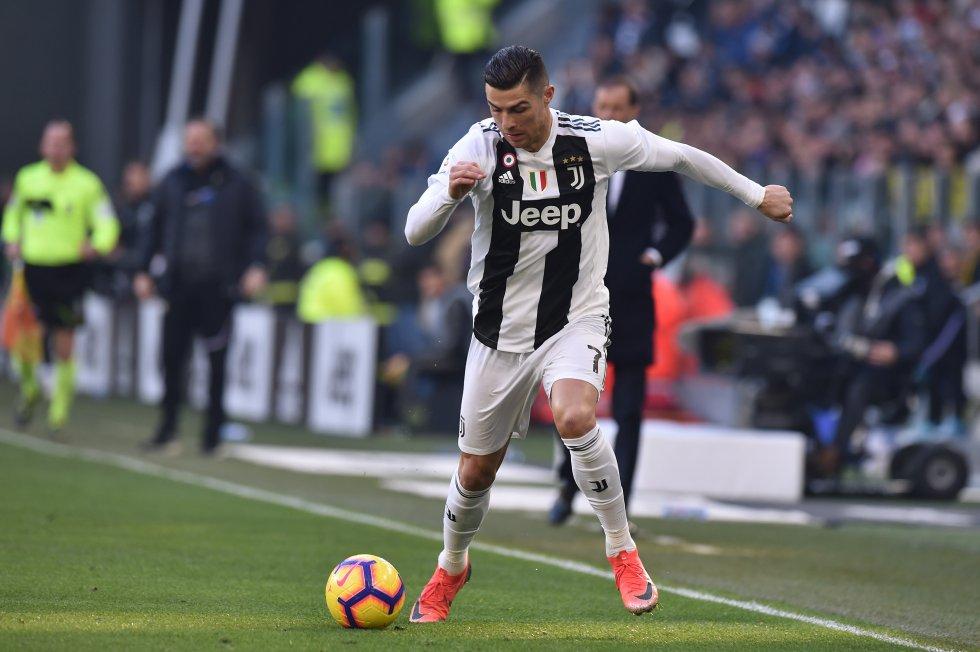 Cristiano Ronaldo, atacante de la Juventus.