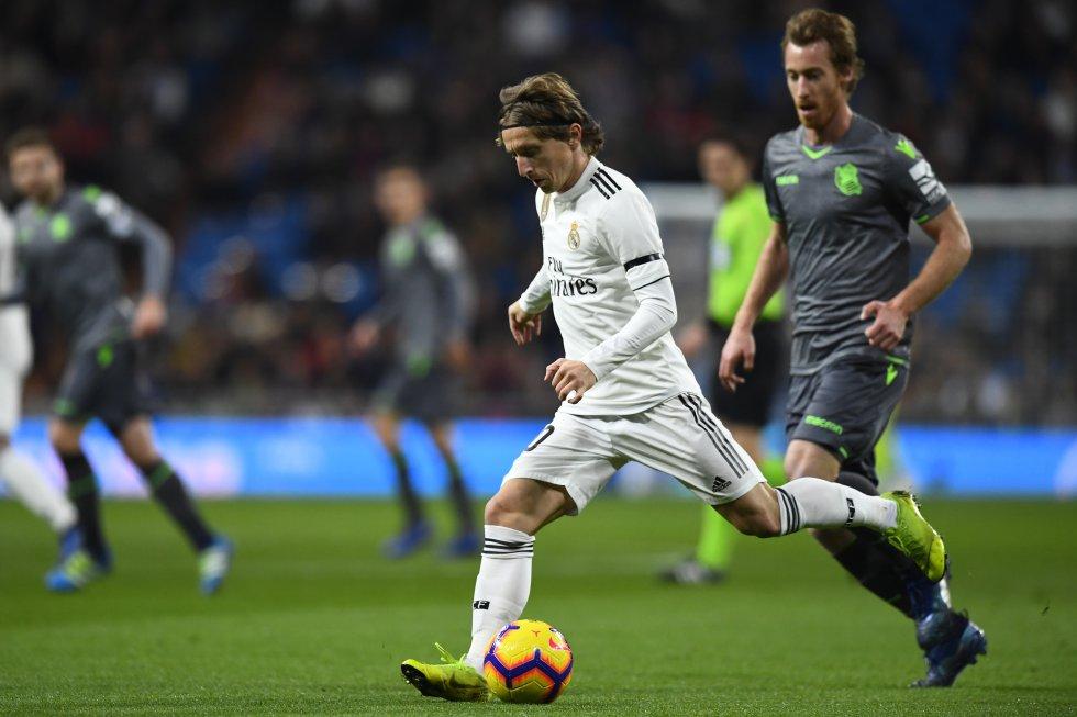 Luka Modric, mediocentro del Real Madrid.