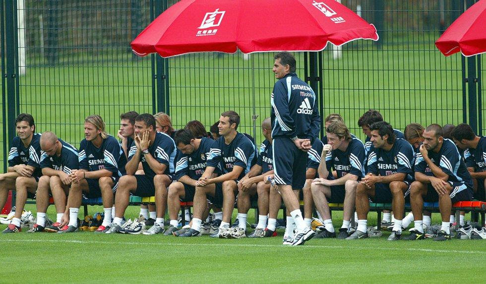 Queiroz como entrenador del Real Madrid