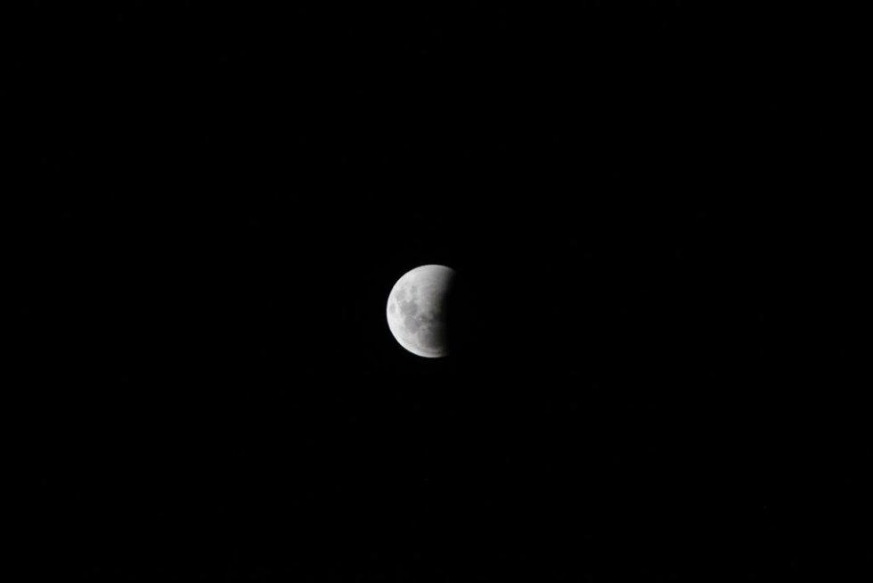 Eclipse lunar: Así se vivió el eclipse lunar en Colombia