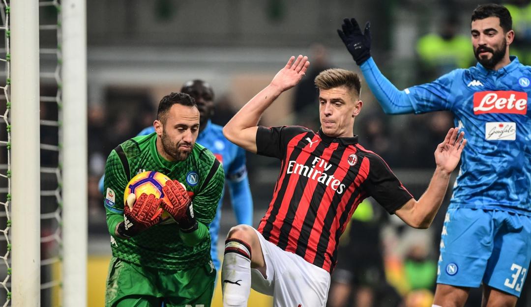 e3d889ace70a2 Ospina napoli  David Ospina fue figura en el empate del Napoli ante ...