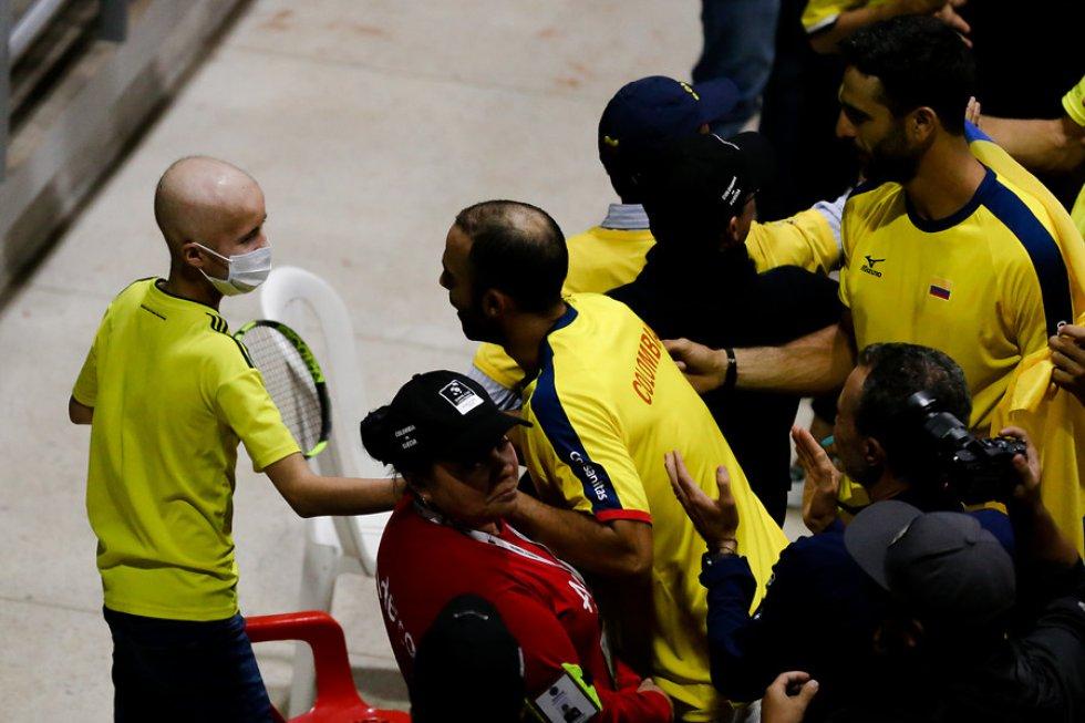copa davis colombia suecia: Colombia celebra la histórica clasificación al grupo Mundial