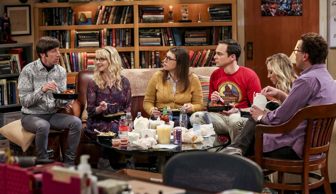 Su propio estudio en The Big Bang Theory: The Big Bang Theory, la serie de warner channel, tendrá su propio estudio