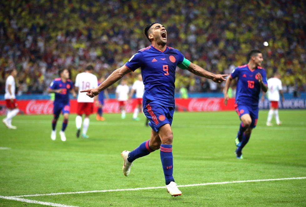 Selección Colombia (81 partidos y 32 goles)