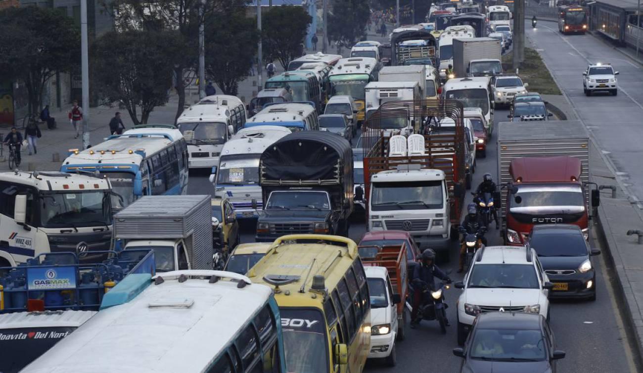 Causas de congestión de tráfico pdf