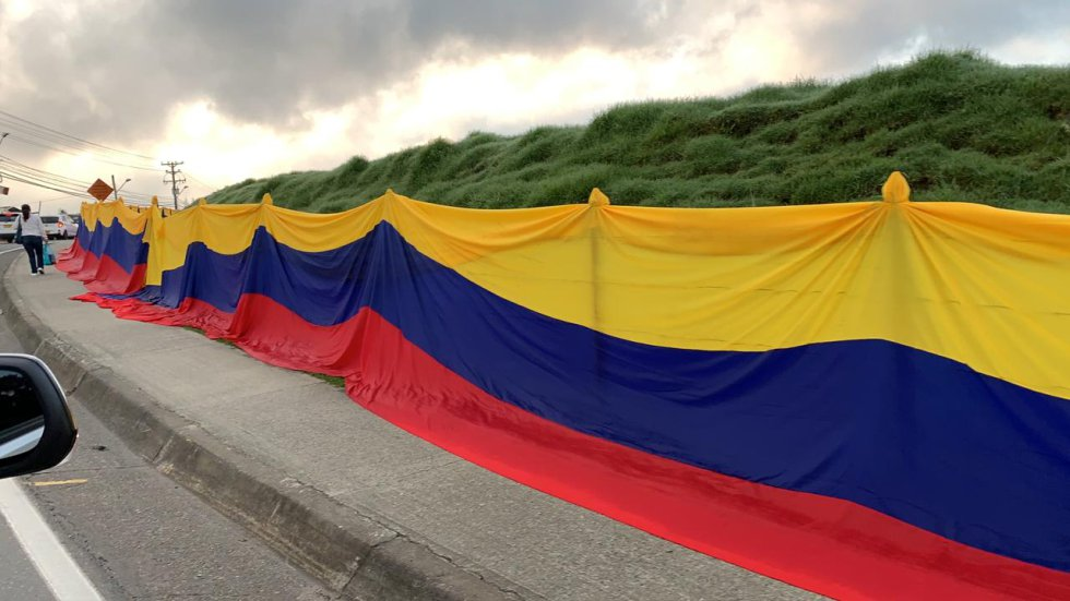 La Unión participó del Tour Colombia