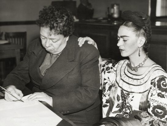Diego Rivera y Frida Kahlo Rivera.