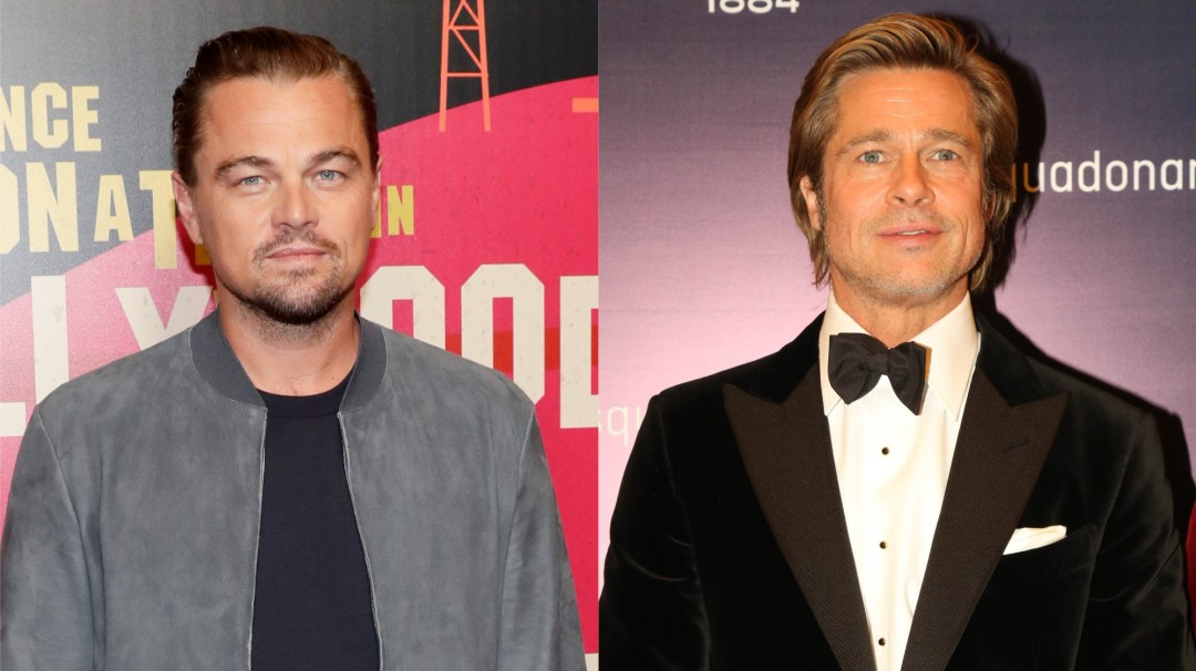 Así lucen Leonardo DiCaprio y Brad Pitt en 'Once upon a time in Hollywood'
