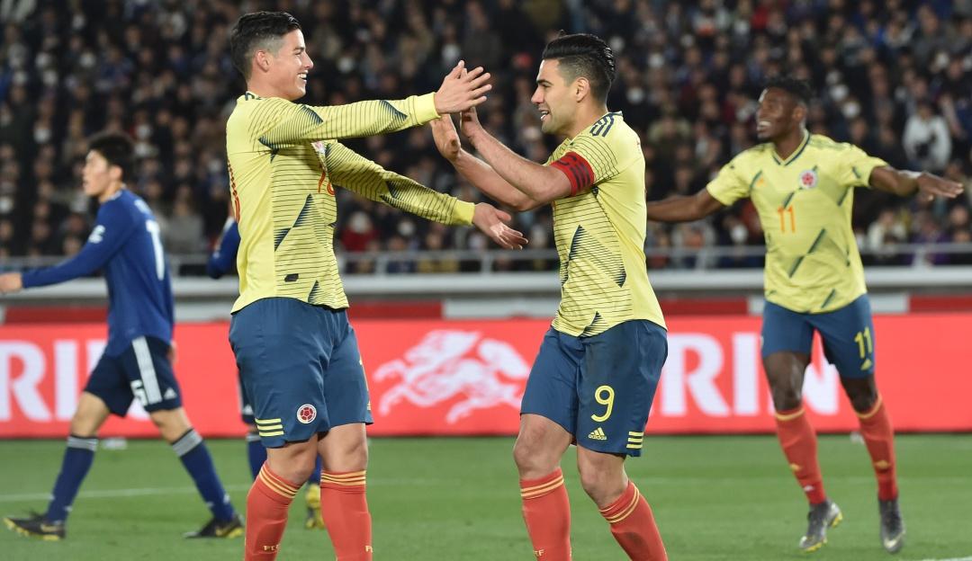 Colombia Japón on line en vivo amistoso: Colombia inició con victoria ante Japón la era Queiroz