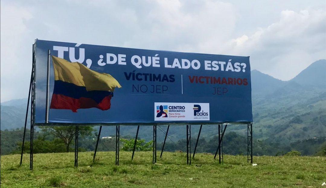 """El """"tatequieto"""" de Patricia Linares a Uribe"""