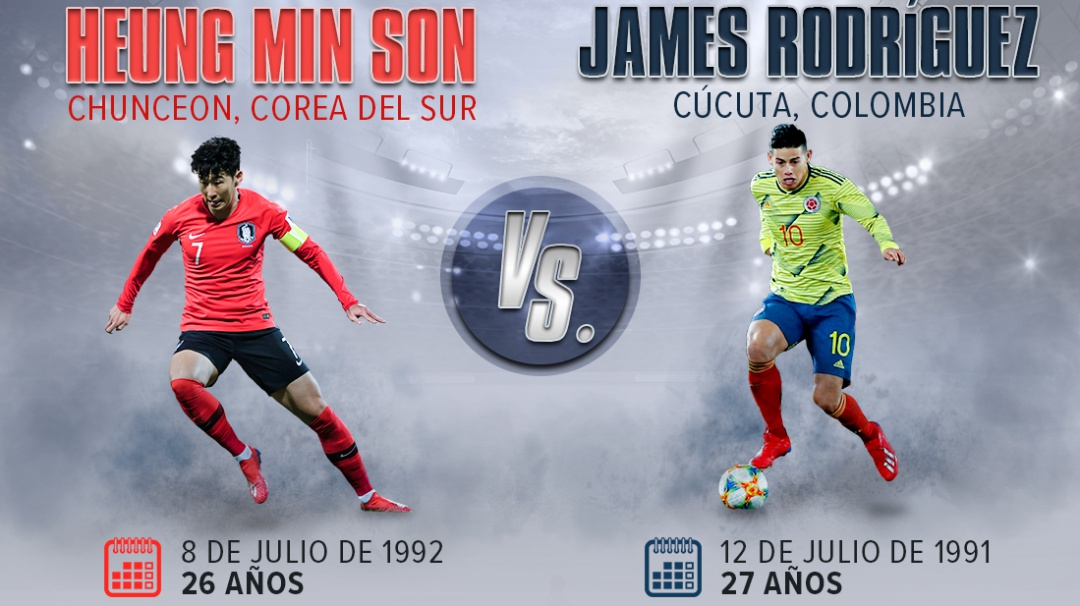 Son Vs. James, duelo de figuras de talla mundial