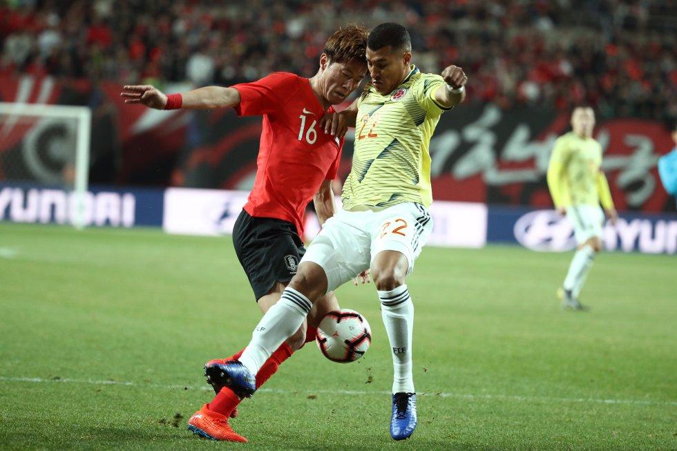 en vivo Colombia Corea del Sur: Las mejores imágenes del partido entre Colombia y Corea del Sur