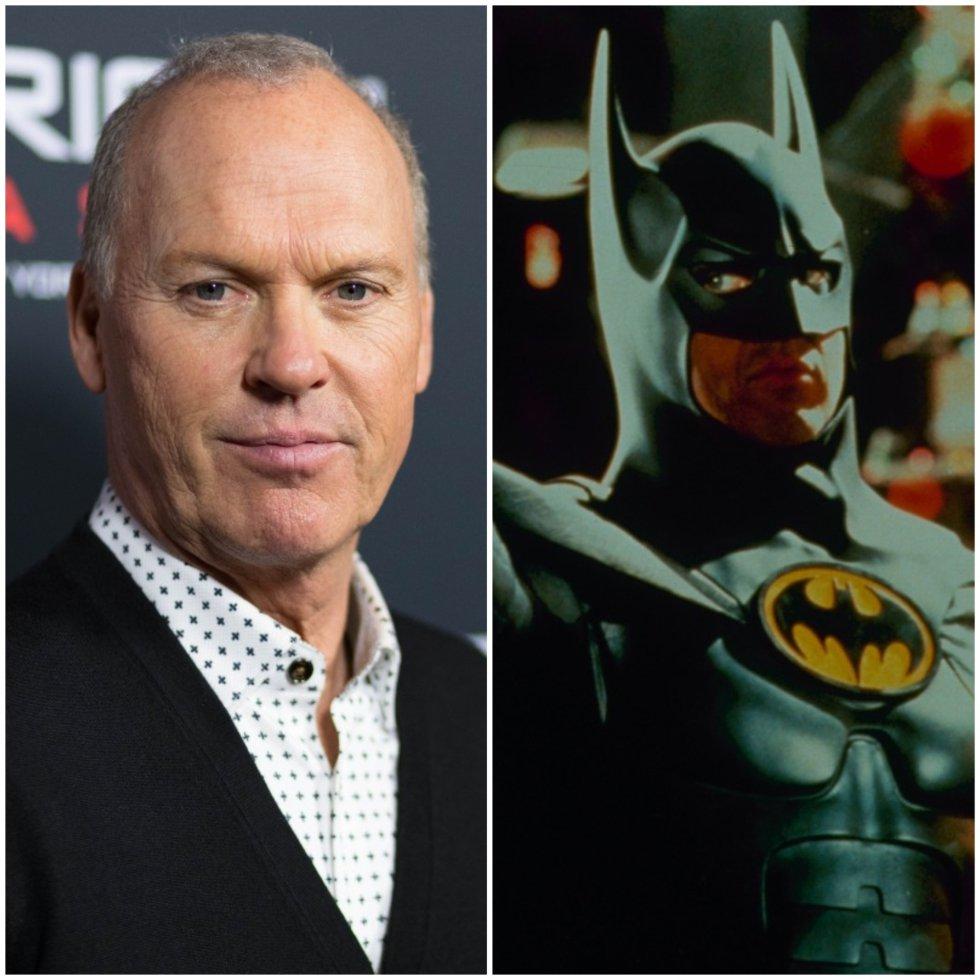 Michael Keaton: lo interpretó en 1989 y vuelve 1992.