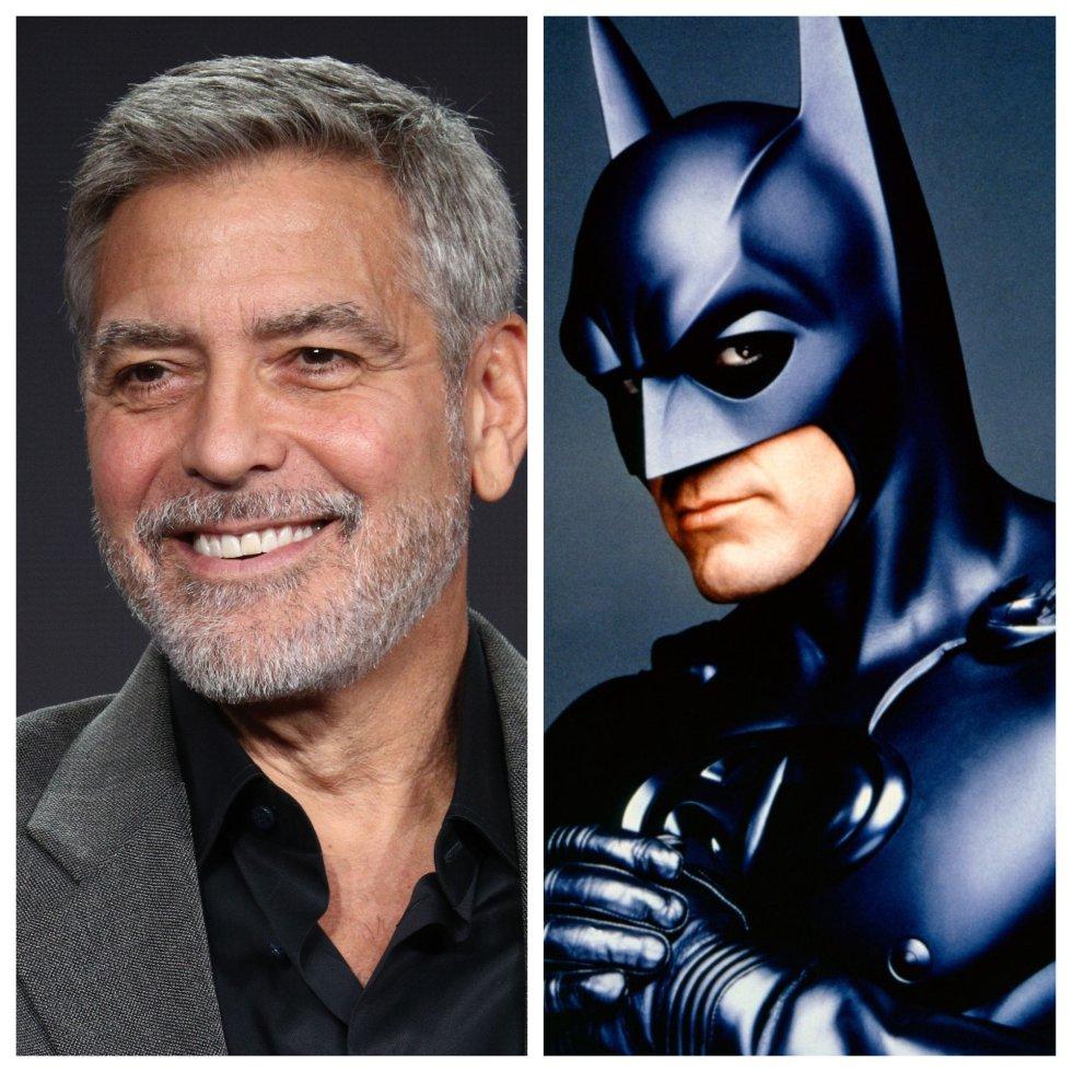 George Clooney: Batman y Robin 1997.