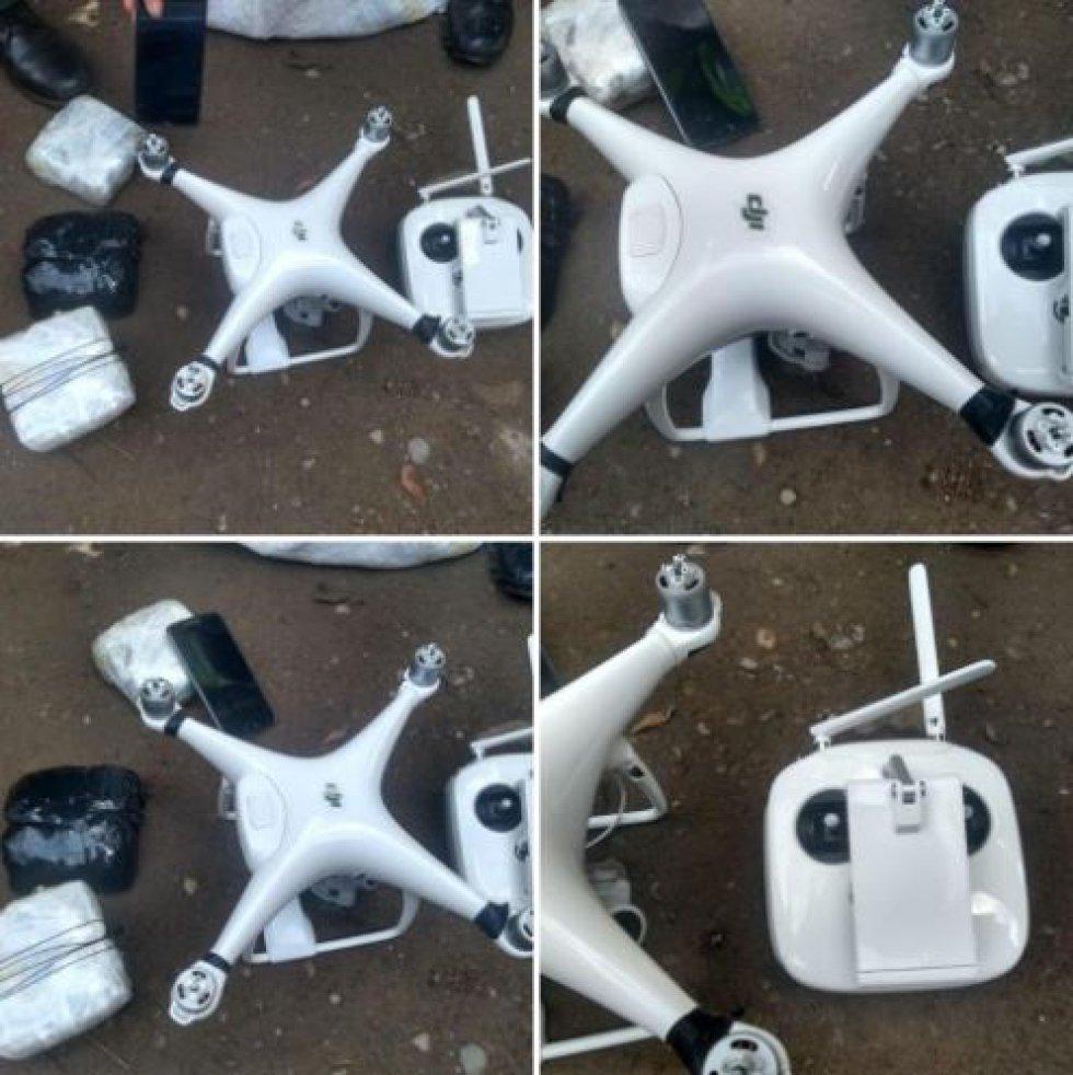 Drones en las cárceles