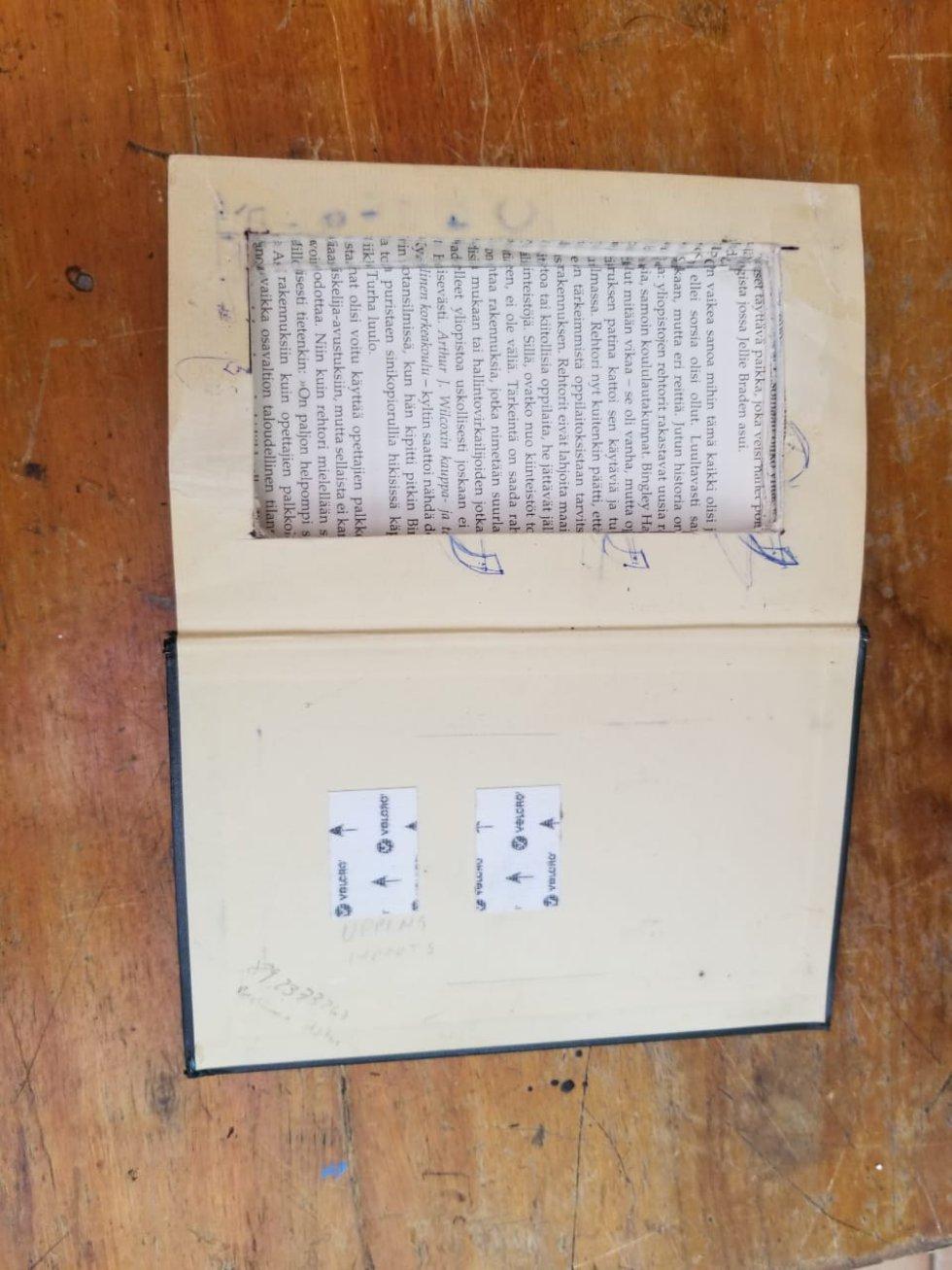 Biblias modificadas para entrar elementos a las cárcerles
