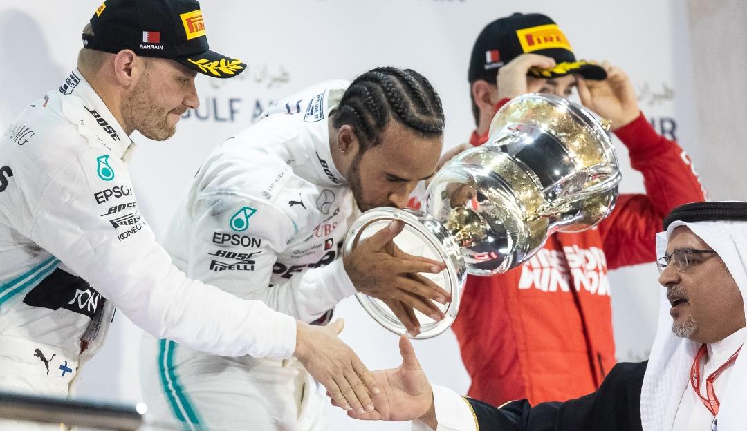 Hamilton Baréin Fórmula 1: Hamilton ganó en Baréin y Mercedes repitió el 1-2