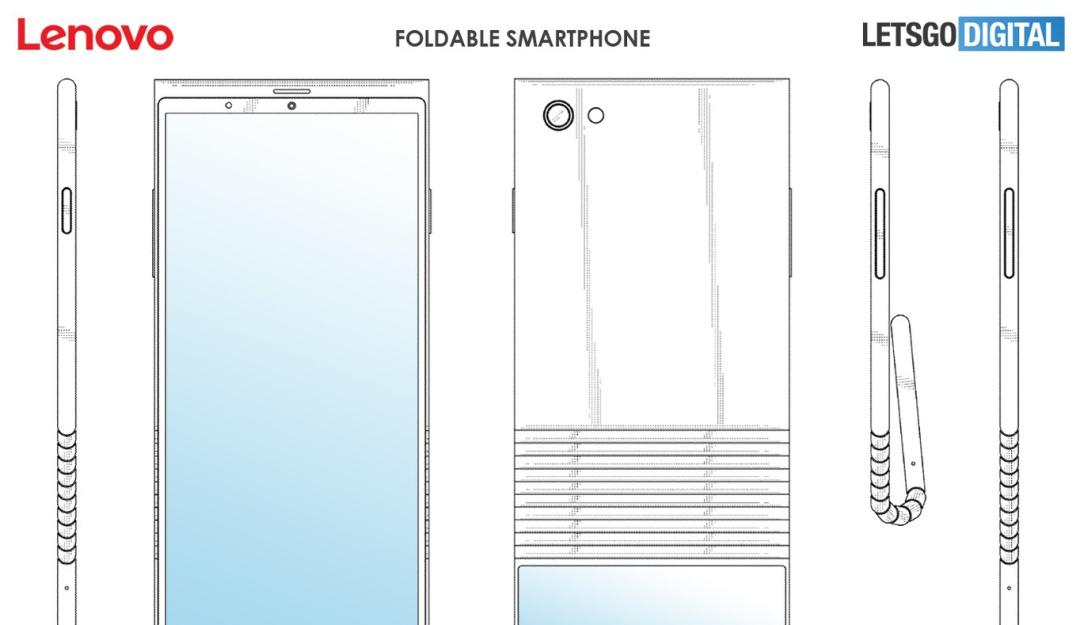 Lenovo celular flexible: Lenovo re-diseña la tendencia de teléfonos flexibles