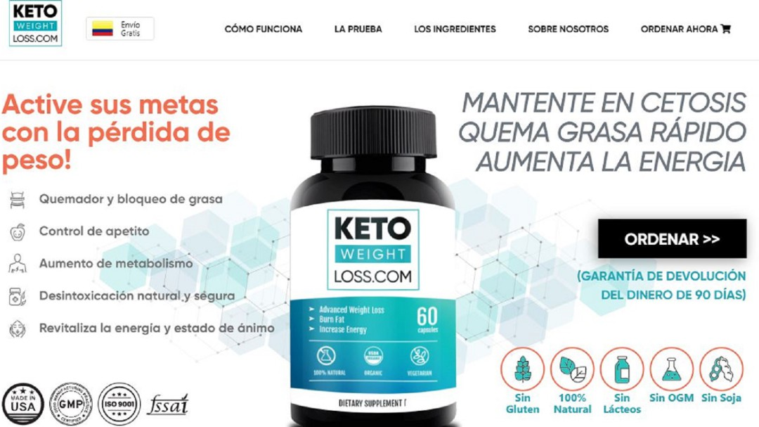 Invima dice quema grasa, Keto Weight Loss es ilegal