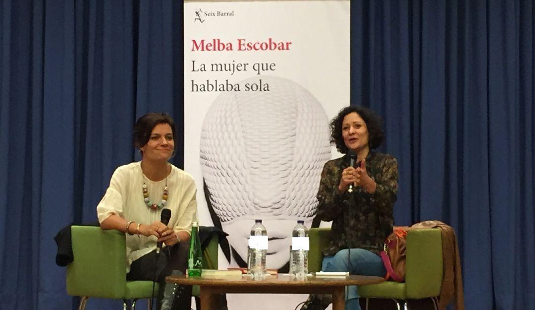 "La mujer que hablaba sola"" novela de Melba Escobar | Cultura"