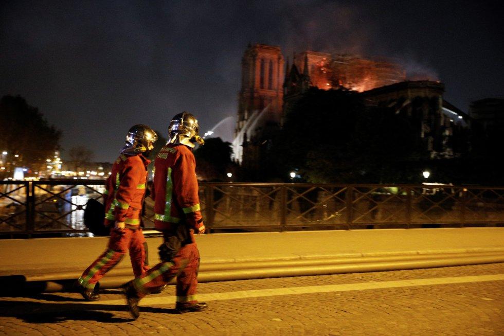 """""""París está desfigurada. La ciudad nunca será como era antes""""."""
