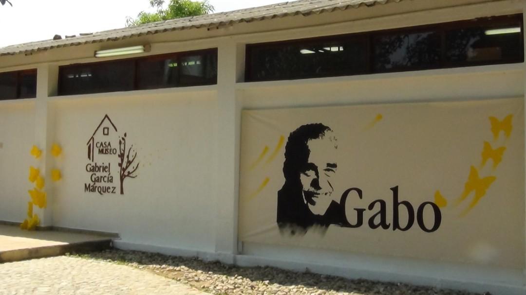 De paseo en la casa de Gabo en Aracataca
